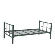 modern cheap KD structure metal frame single bed designs