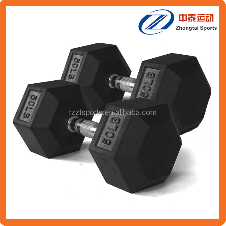 home use hexagon shaped crossfit dumbbell