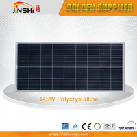 Competitive Price High Quality 145w Poly Cheap Photovoltaic Solar Panels
