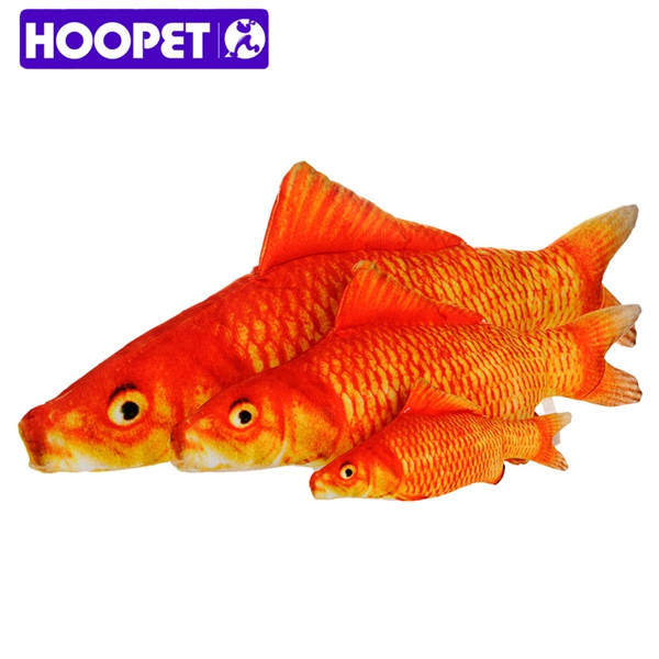 Popular Cat Toy Red Gold Fish for Cat Playing Pet Product