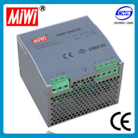DRP-240-48 variable output dc power supply,200v dc power supply,240w din rail power supply