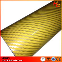Self Adhesive matte Vinyl 1.52*30m holographic car vinyl wrap carbon fiber car cover vinyl