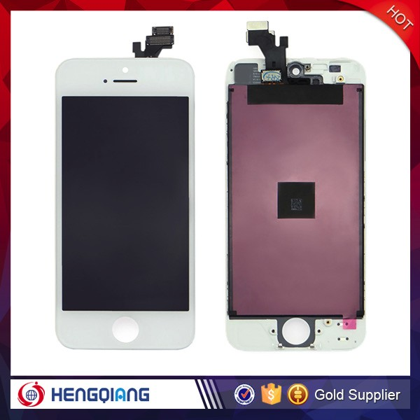 Mobile phone accessories lcd dispaly touch screen for iphone 5