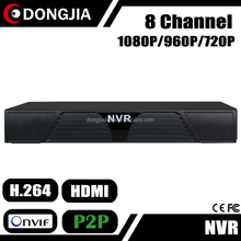DONGJIA DJ-2008A Network 8CH HD Black Box 24 Hour Video Recorders