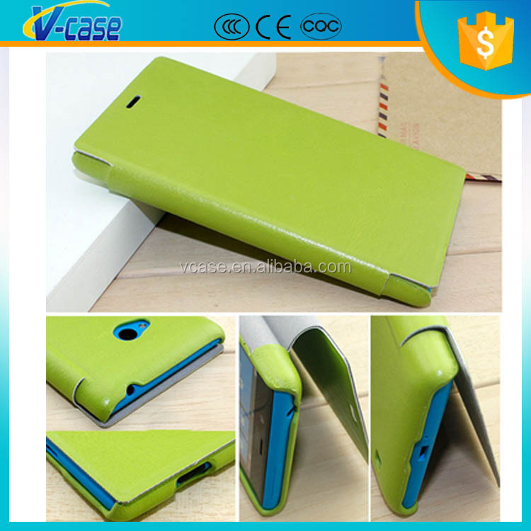 Great Touch Stand Style Flip Leather Case Cover for Nokia Lumia 720