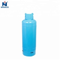 refillable empty steel 50kg lpg cooking gas cylinder for sale from factory