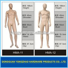 high quality clear plastic mannequin
