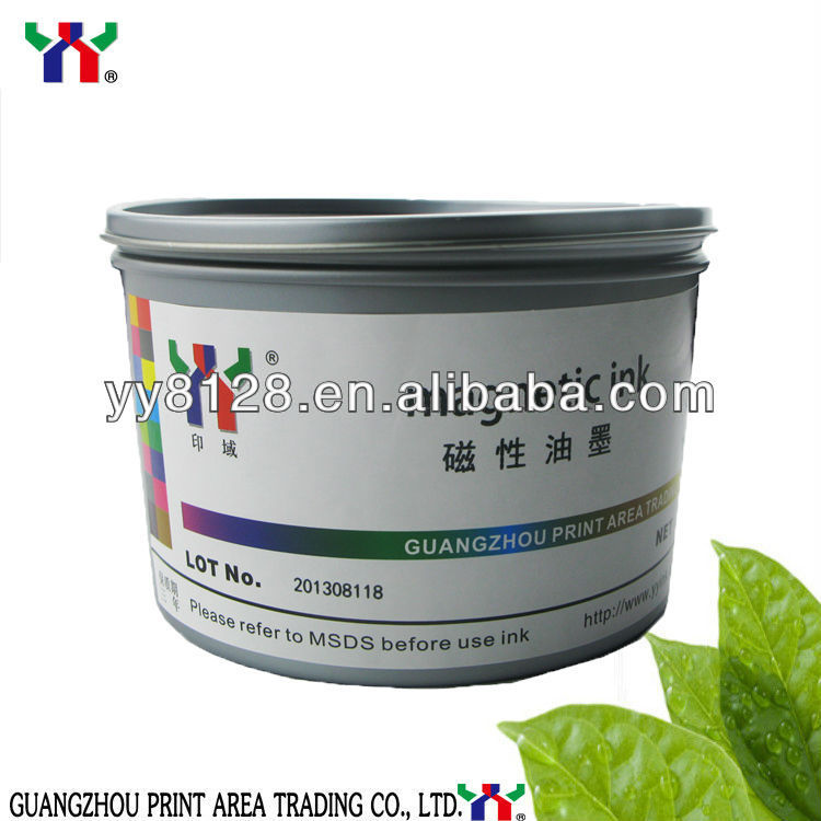 Money printing/magnetic ink/screen printing security ink