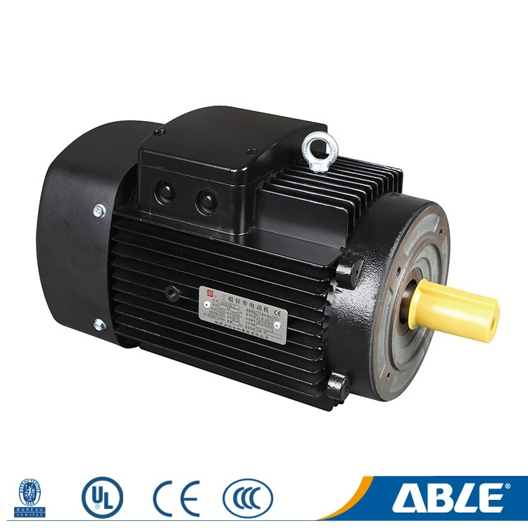 Custom three-phase ie2 ip 54 square asynchronous low spg 3hp induction motor