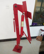 mini lift crane 1 ton 10m mounted truck crane with electric hydraulic winch