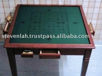 2 in 1 Solid Wood Mahjong Table