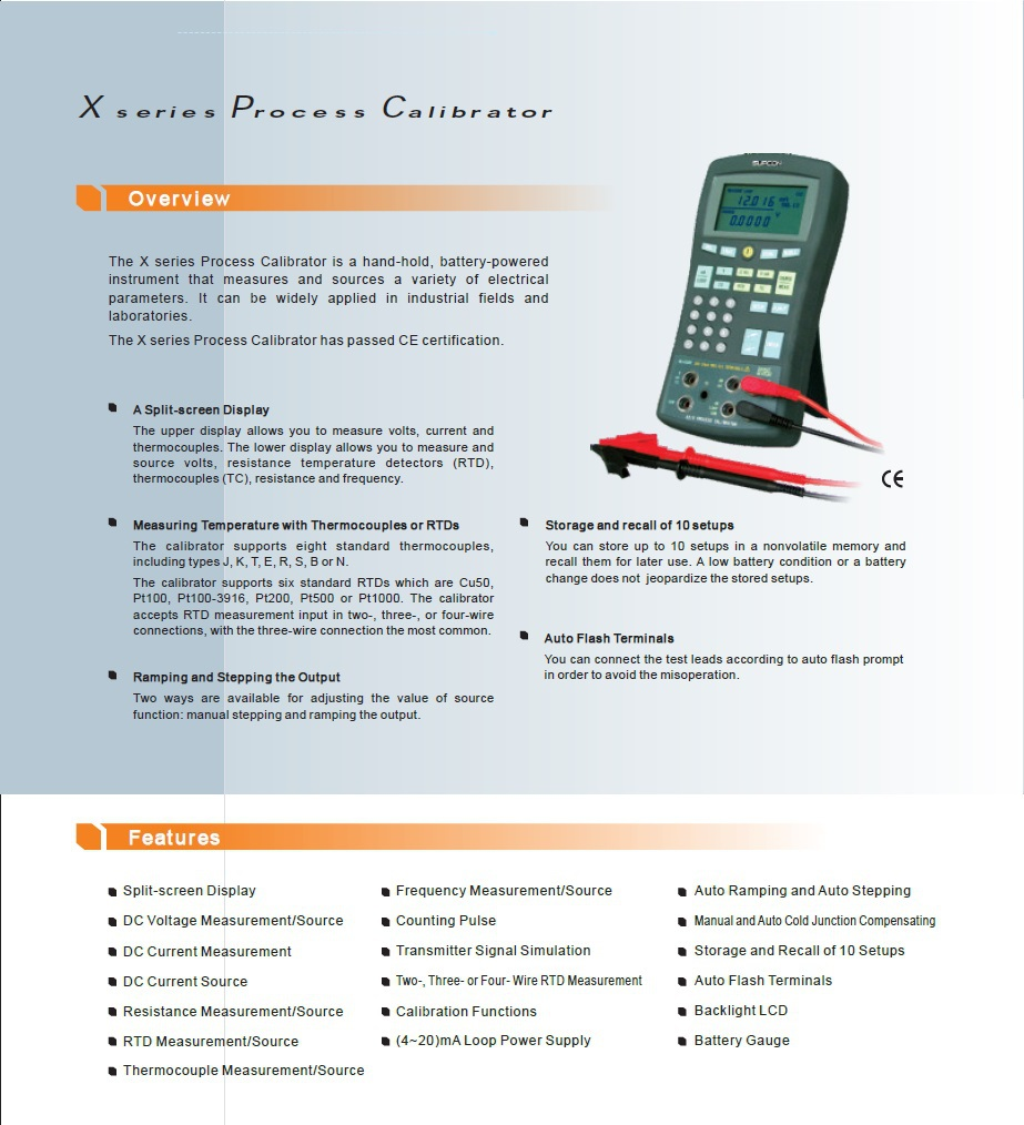 Measuring and sourcing electrical parameters tools and instruments