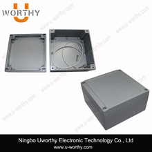 Diecast Aluminium Boxes with Wall Mounting Bracket 5.51'' X 5.51'' X 3.93''