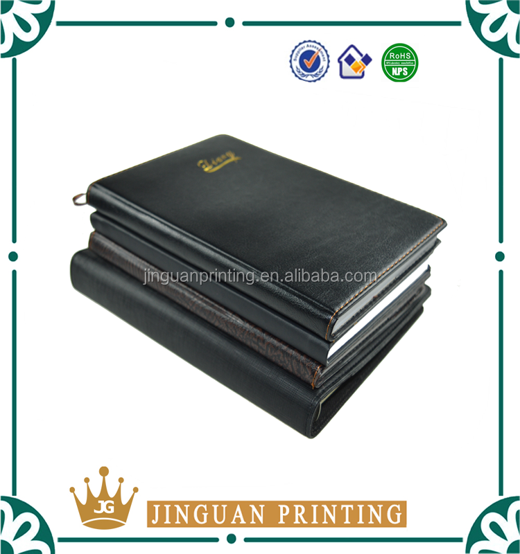 Customized Size Print Hot Selling High Quality OEM PU Leather Notebook