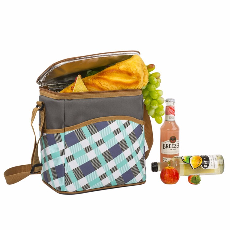 12 Can Cooler Bag with adjustable strap/cooler commpartment TWCB-17011A238