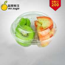 MR-6006 Disposable eco friendly cheap price clear plastic food /bulk /fruit /vegetable container packaging tray for supermarket