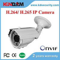 2.8-12mm Varifocal H.265 IP Camera 2MP IP Bullet Housing CCTV Security outdoor use weatherproof IPC Camera