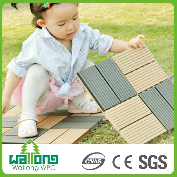 Easy to clean up engineered euro click laminate flooring wpc decking tile dealers