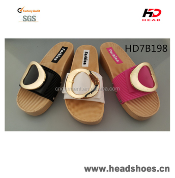 New arrival hot selling fashionable sandals PCU PVC slippers