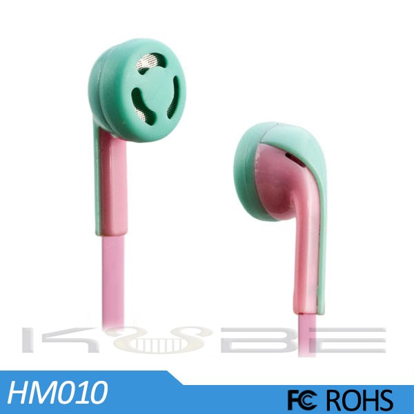 Earhook design earphone stereo headset for mp3 player
