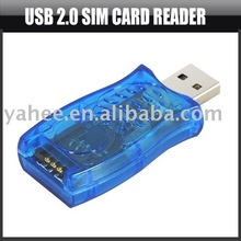 USB 2.0 Sim Card Reader,YHA-PC113