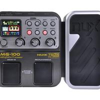 NUX custom logo guitar delay, amplifier, compression effect easy control with tuner