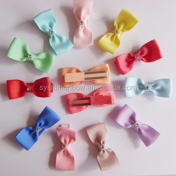grosgrain ribbon children hair ornaments