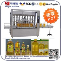 Oil Bottle Filling And Sealing Machine / Oil Filling Line