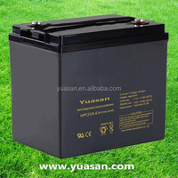 6V 210AH Rechargeable Lead Acid AGM Deep Cycle UPS Battery -NPC210-6