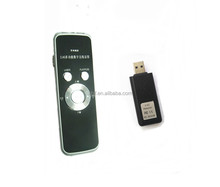 2.4G wireless microphone with music playing control,PPT presneter and laser pointer