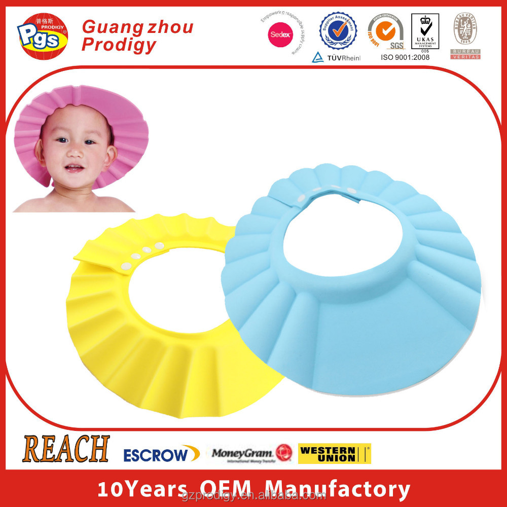 baby Bathing Shower Cap Wash Hair cap
