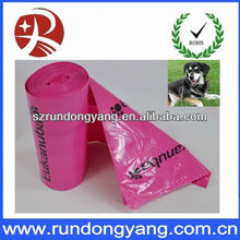 dog waste bag dispenser/ doggie poop bags with high quality