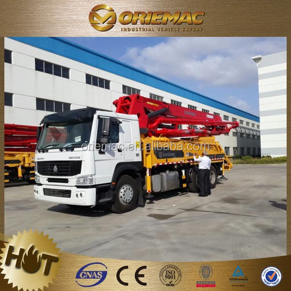 LIUGONG concrete pump for sale india 24m