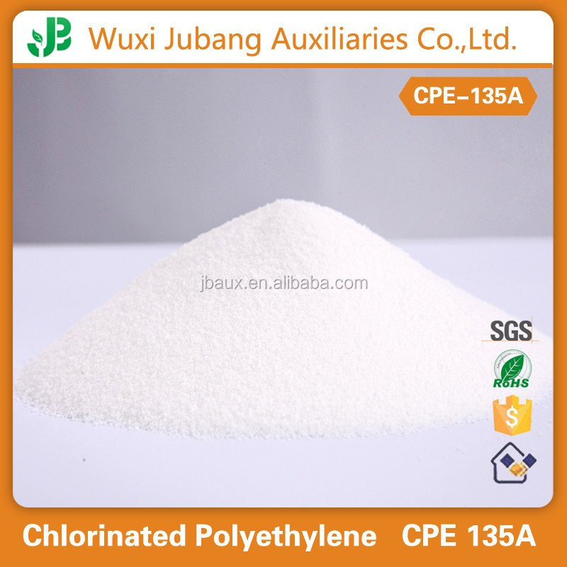 pvc raw material chlorinated polyethylene cpe 135a,provide free samples