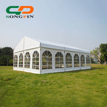 6mX9m luxurious aluminum church tent wedding party tent for sale with white fabric