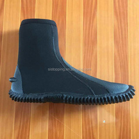 Stock neoprene Hi top low Top zipper boot zipperless boot wetsuit zipper shoes