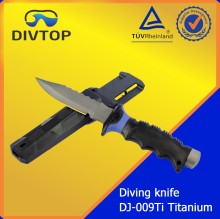 Professional Plant For Dive 100% Titanium Butter Knife in China