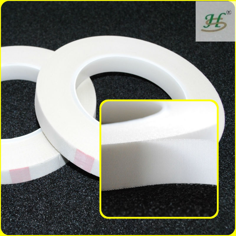 Silicone adhesive no glue residue fiberglass mesh tape in china