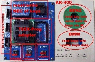AK400 car key programmer