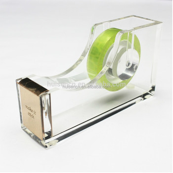 acrylic unique tape dispenser type