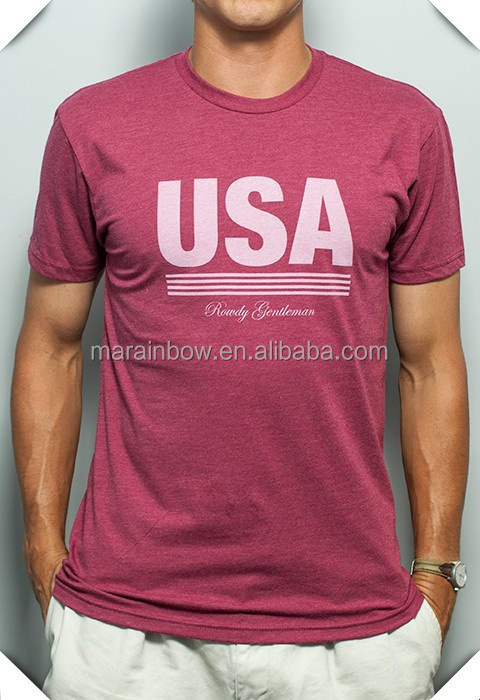 high quality sublimated printing screen printing USA t-shirt jersey with best price Made IN China wholesale