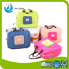 Multifunction waterproof foldable nylon clothes travel carrying storage bag with handles