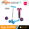 3 wheels maxi kick scooter/kick scooter/foot kick scooter with light wheels