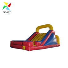 red inflatable backyard slide /small indoor inflatable slide / kids inflatable slide