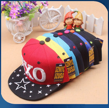 Spring& summer children cap snapback caps fashion letter 3D embroidery baby hat snapback cap