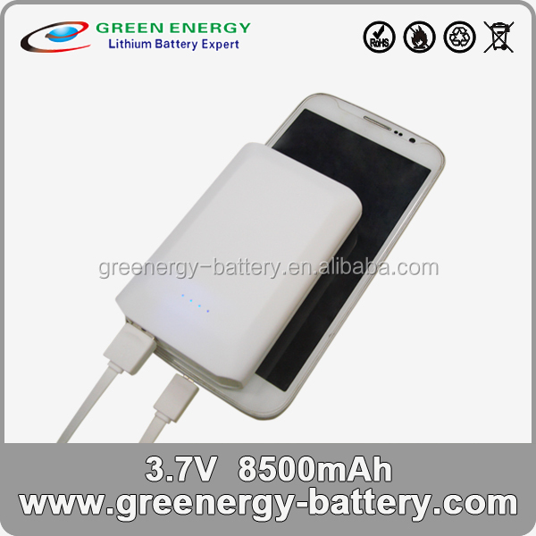 8500mAh mini-sized Power Bank for mobile devices