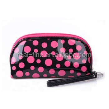 2017 Fashion Style Easy to Clean High Quality PU Cosmetic Bag