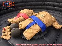 Commercial inflatable body game sumo suits, sumo wrestler costume