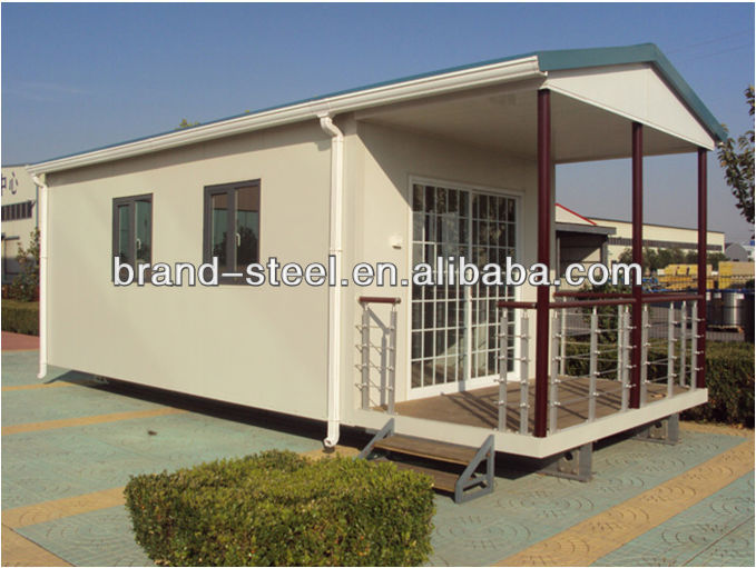 modular house,made of polyurethane sandwich panel,we can make sandwich panel house according to your design