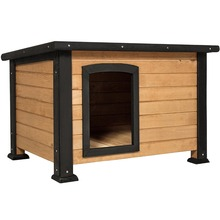 Factory wholesale custom large wood dog house for sale